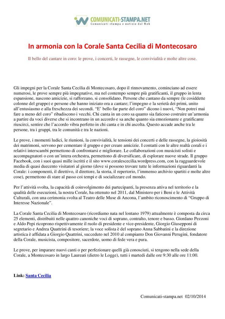 comunicati-stampa IN ARMONIA CON LA CORALE-001