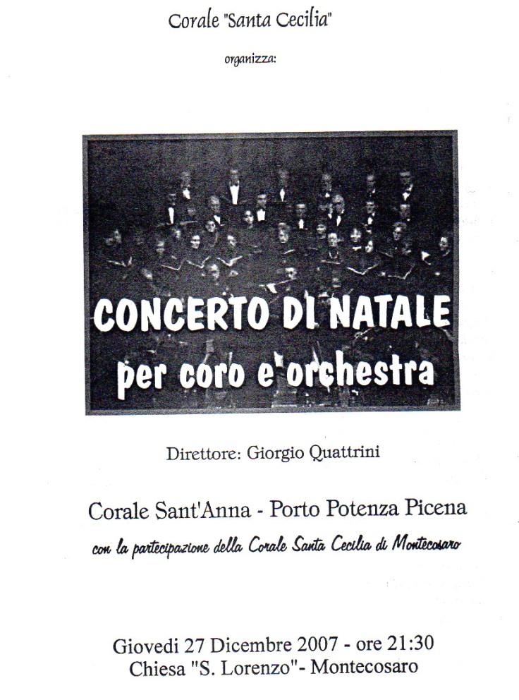 concerto con orchestra 2007