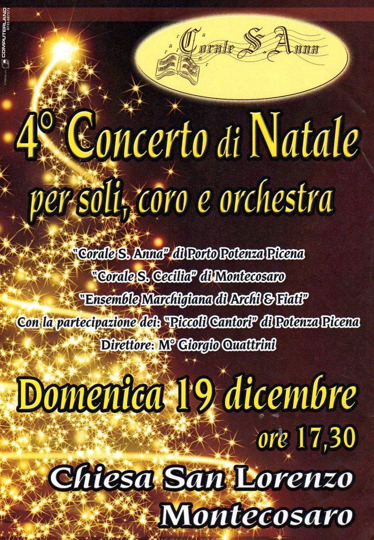 concerto con orchestra 2010