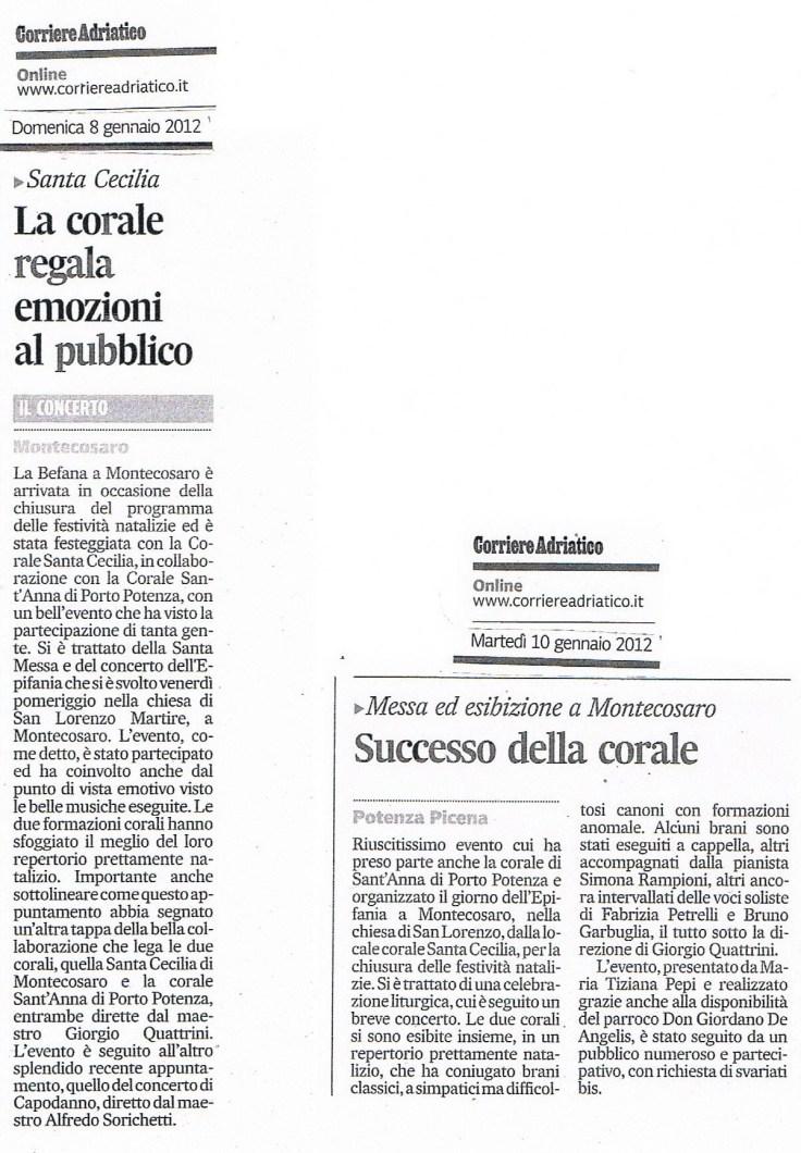 corriere adr 8 e 10 gen 2012