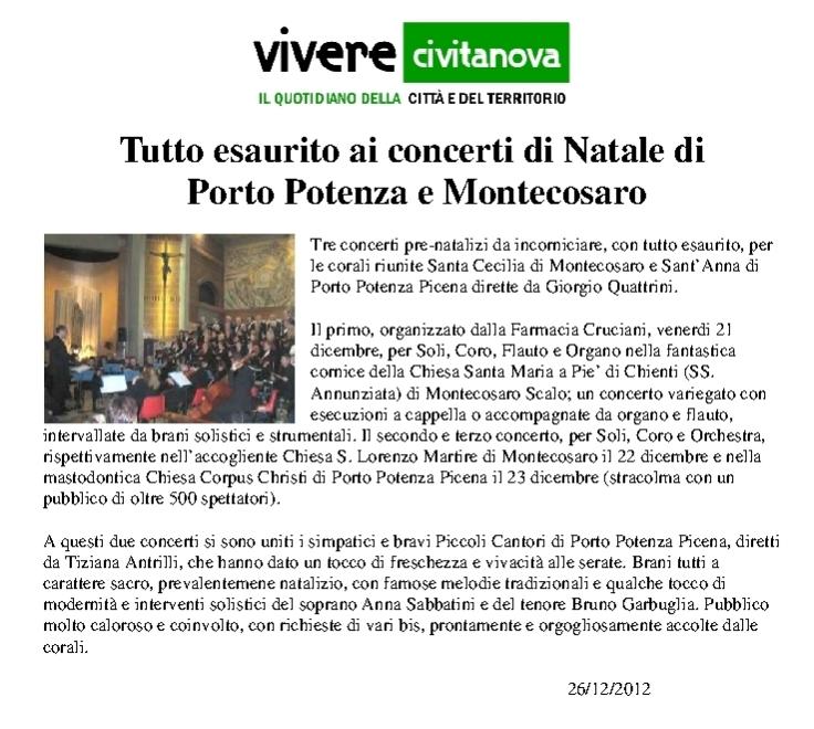 viverecivitanova post-concerto natale 2012-01