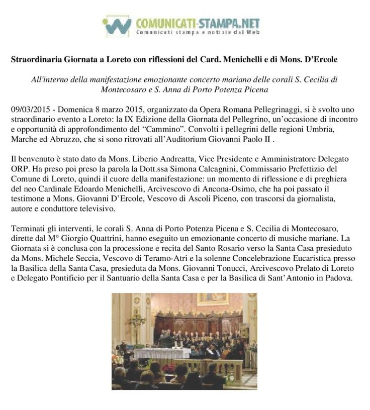 comunc.stampa loreto 8-3-15